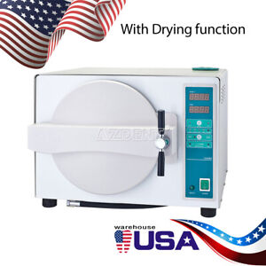 Usa18l Dental Automatic Autoclave Steam Sterilizer Medical 1100w Drying Function