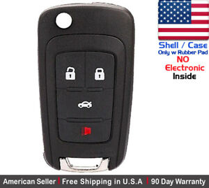1x New Replacement Remote Key Fob Case For Chevy Buick Gmc Shell Case Only