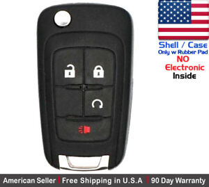 1x New Replacement Remote Key Fob Case For Chevy Gmc Shell Case Only
