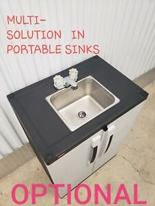 Portable Sink Mobile Handwash Self Contained Cold Water Concession For Daycare