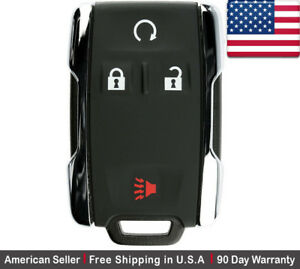 1 New Replacement Keyless Key Fob Remote For Chevy Gmc M3n 32337100