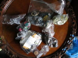 Lot Of Antique Vintage Mid Century Buttons Many Matching Sets