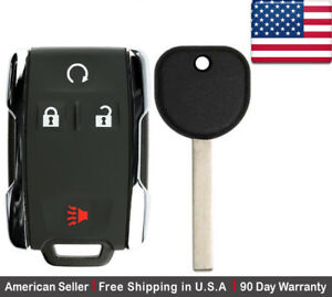 1 New Replacement Keyless Key Fob Remote For Chevy Gmc M3n 32337100 B116 Pt