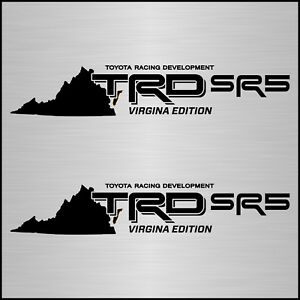 Toyota Tacoma Trd Sr5 Bed Decal Sticker Virginia Edition 4x4 Sport Tundra Off Rd