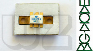1 X Sd1423 4 St Rf Microwave Transistors 800 960 Mhz Base Station Applications