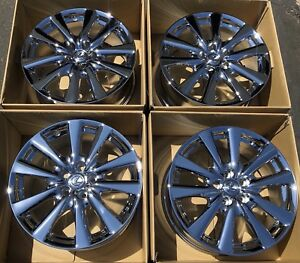 18 Lexus Gs350 Gs450h Gs Oem Factory Chrome Wheels Rims Set Of 4 74269