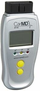New Carmd 2110 Code Reader With Coverage for 3 Obd2 Vehicles