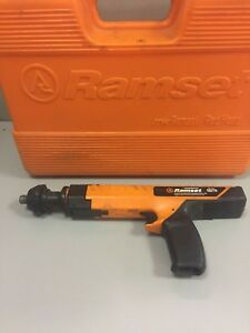 Ramset readhead Model Sa270 Caliber Heavy Duty Powder Actuated Tool W Case
