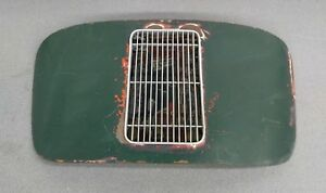 Very Nice Original Porsche 356 Pre A Coupe Engine Lid W Grill Latch Green