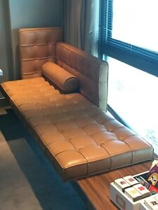 Philippe Starck Leather Sofa Chaise Tables By Cassina