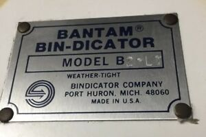 Bantam Bin dicator Model B2 lt
