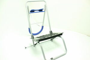 Stair Climber Trolley Dolly 2 Blue Grocery Foldable Cart Condo Apartment Blue