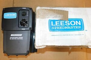 Leeson Washguard Dc Speed Controller 174102 00 115 230 90 180 Vdc 10a New