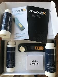 Mendix Portable Ultrasound Therapy Device With 3 Bottles Lavender Infusion Gel
