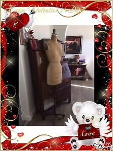 Mannequin Wolf Collapsible Vintage Dress Form Model 1973 Size 7
