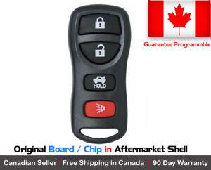 1x New Oem Replacement Keyless Entry Remote Control Key Fob For Nissan Kbrastu15