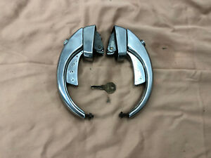 Willys Jeep Wagon Truck One Set Of Exterior Locking Door Handles With Key