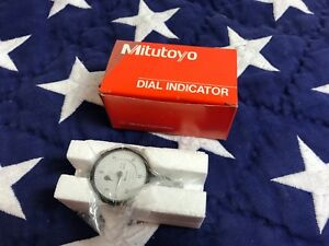 Mitutoyo 1571 10b 0005 075 Dial Indicator Depth Gauge