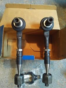 Audi Vw Front Inner Outer Steering Tie Rods 4e0419801 Pair 2 Wrench