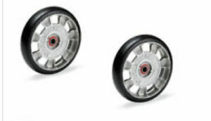 qty 2 Magliner 10815 Mold On Rubber Hand Truck Wheel 8 X 2 In