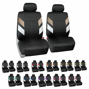 Neoprene Car Seat Covers For Auto Car Suv Van Front Bucket 12 Colors