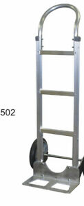 B P Mfg Liberator Aluminum Two Wheeler Hand Truck With Air Filled Tires