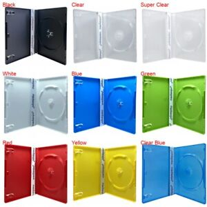 Premium Standard Single Dvd Cases 14mm 100 New Material