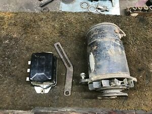 Ih Farmall Generator And Regulator 706 806 International 460 560 D282