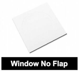Paper Cd Sleeves With Window no Flap