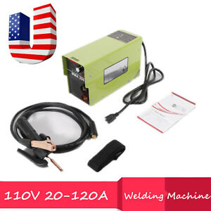 110v 20 120a Handheld Mini Electric Inverter Arc Welding Machine Tool For Welder
