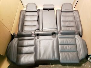 2006 2009 Volkswagen Gti Rear Left Right Seat Gray Leather Factory Oem