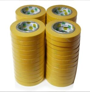 Instafinsh 3 4 Yellow Masking Tape Case Of 48 Rolls Automotive Marine