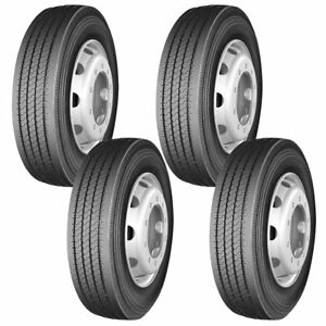 4 X Commercial Truck Tires 285 75r24 5 144 141m 14 Ply Trailer Tire High Quality