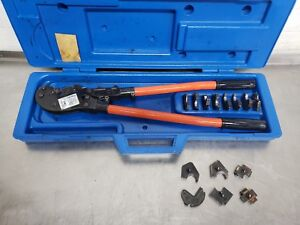 Thomas Betts Tbm6s Manual Crimper Tool With Dies
