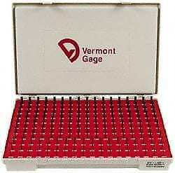 Vermont Gage 190 Piece 0 0615 0 2505 Inch Diameter Plug And Pin Gage Set Min