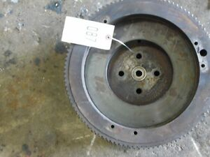 John Deere Mc Crawler Tractor Flywheel W Ring Gear Tag 087