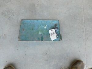 John Deere 10 20 Series Tractor Access Panel W Light Switch Ignition Tag 376