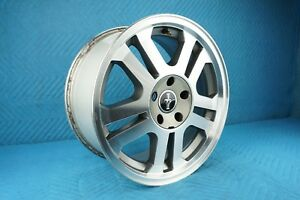 2005 2006 Ford Mustang 17x8 Alloy Wheel With Central Cap 10 Spoke Oem