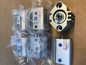 New Compact Pneumatic Cylinder Cdq2b20 10 Lot 0f 6