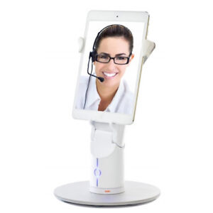 Kubi Classic Telepresence Robot Web Controlled Video Conferencing Robotic Stand