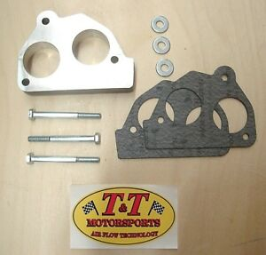 Tnt Throttle Body Tbi Spacer 92 95 Chevy Gmc 1500 5 7l T2 Kit