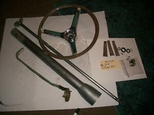 1967 Cougar Xr7 Steering Column Steering Wheel