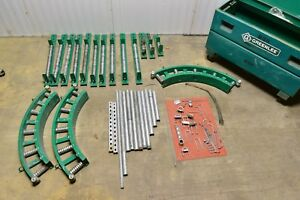 Greenlee Right Angle Cable Puller Roller Lot With Box Tugger