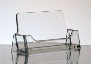 100 Acrylic Clear Business Card Holder New Free Shipping