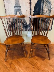 2 Beautiful Vintage Heywood Wakefield Dining Chairs Frenchcountry