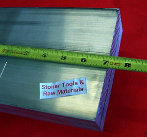 2 X 6 1 2 Aluminum 6061 Flat Bar 7 Long Solid T6511 New Plate Mill Stock