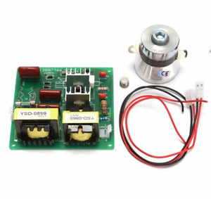 Ac110v 100w 40k Ultrasonic Cleaner Power Driver Board With 60w 40k Transducer