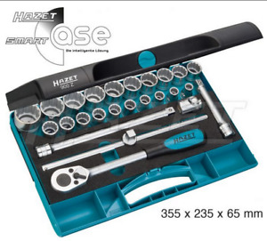 Hazet Socket Set 1 2 Drive Sizes 10 32mm Ratchet Wrench Extension New 900z