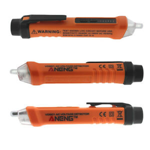 Ac 12 1000v Non contact Power Detector Pen Voltage Testers Led Flash Indicator
