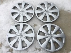Oem 09 10 11 12 13 Toyota Corolla 15 Hubcaps Wheel Covers Set 4 Factory